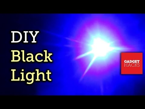 Turn Your Smartphone Into A Portable Black Light [How-To]