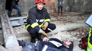 Simulation d'une opération de secourisme