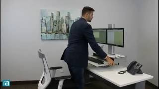 Hover Helium Dual Monitor by RightAngle Products