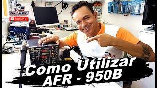 Como Utilizar Estação de Retrabalho SMD AFR - 950B, Estação de ar, Ferro de Solda