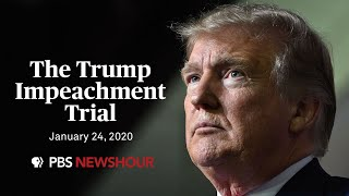 WATCH LIVE: Senate impeachment trial of Donald Trump | January 24