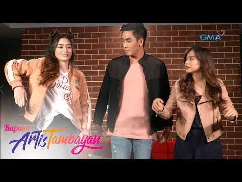 ArtisTambayan: Jazz Ocampo, Nagpakita Ng Kanyang Hip Hop Moves!