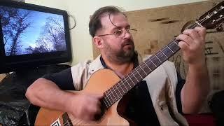«Цвіте терен»   украинская народная, уроки гитары в Киеве и по Скайпу(, 2017-09-15T13:39:35.000Z)
