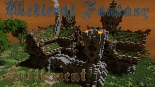 Minecraft building ideas #8 Medieval/Nordic/Fantasy Style Village/Settlement +Download YouTube