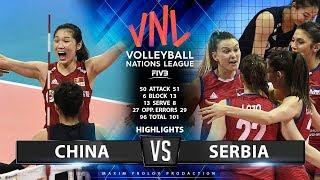 China vs Serbia  | Highlights | Women