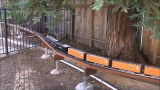 UP Big Boy & Layout Tour   G Scale