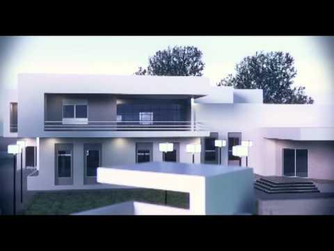 a modern villa 3d max 2011 youtube. Black Bedroom Furniture Sets. Home Design Ideas