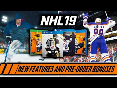 NHL 19 | New Features | 200+ LEGENDS, WORLD OF CHEL, FRANCHISE SCOUTING, PRO-AM, PRE-ORDER REWARDS