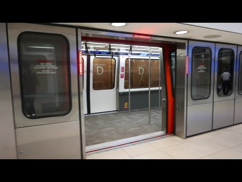 Atlanta Airport Train Ride @ Hartsfield-Jackson Atlanta International (4K)