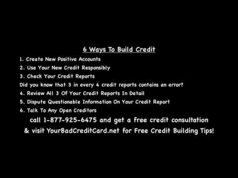 Easiest best options to build credit