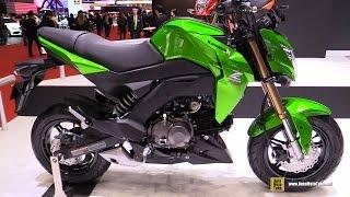 2016 Kawasaki Z125 Pro - Walkaround - 2015 Tokyo Motor Show