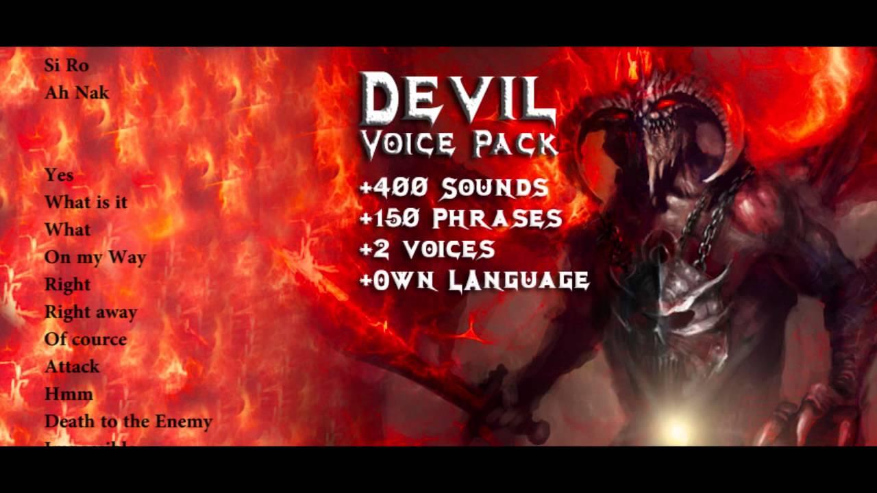 Devil - Voice pack