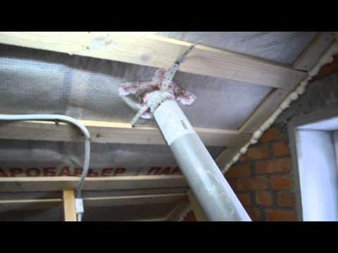 видео: Тихая работа крышного вентилятора для вентиляции частного загородного дома.