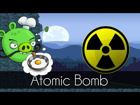 Bad Piggies - ATOMIC BOMB (Field of Dreams) - Weapon of Mass Destruction