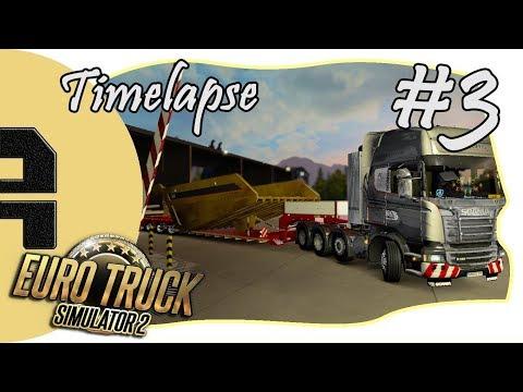 [Timelapse] Euro Truck Simulator 2 - Oslo - Aalborg Mining Truck Tipper (45t)