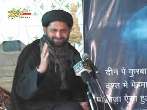 Maulana Nazar Zainabi | 18 Bani Hashim 2013 | Badi Karbala Nawabganj Kanpur