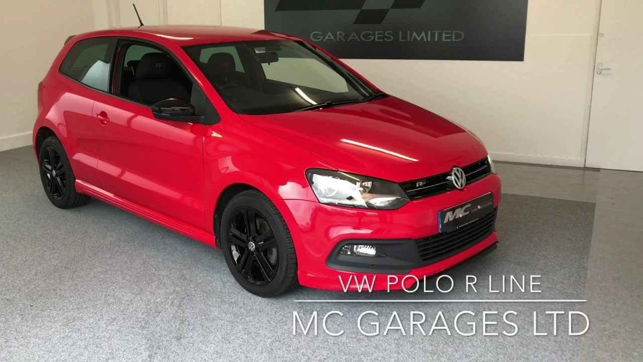 VW POLO R LINE FOR SALE MC GARAGES LTD - YouTube