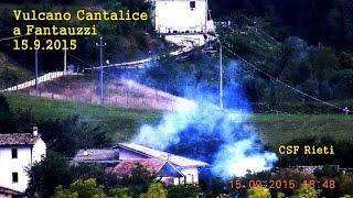 Vulcano Cantalice a Fantauzzi  15 9 2015  Fra le case  CSF Rieti
