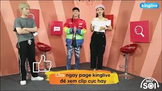 """Lou Hoàng & Cara nhá hàng bản dance của """"Mắt nhắm môi chạm"""""""