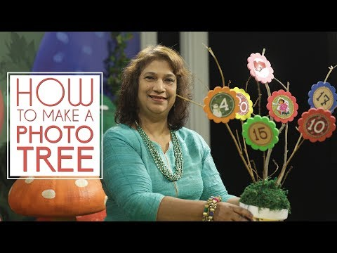 How to make a Photo Tree | Seemas Art