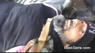 Смерть повстанца в Сирии