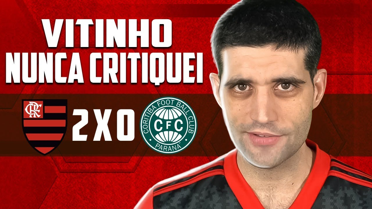 Flamengo 2 x 0 Coritiba, Copa do Brasil - Vitinho NUNCA CRITIQUEI