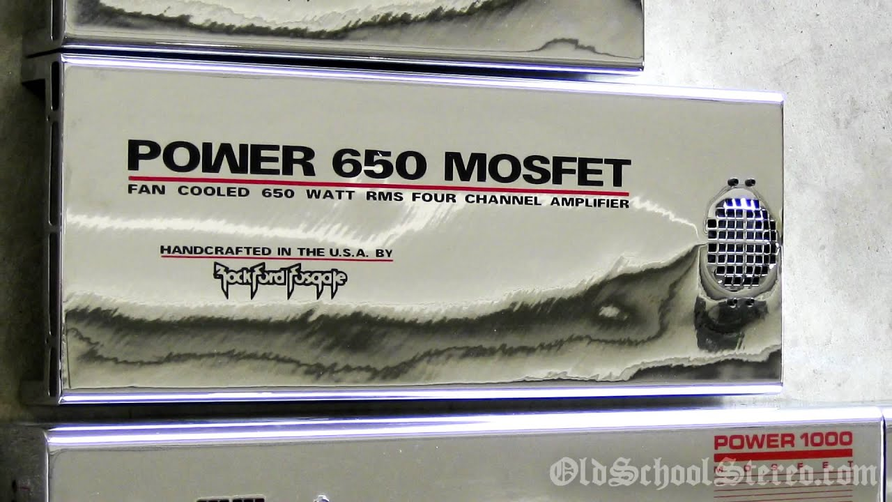 maxresdefault old school rockford fosgate power 650 mosfet video overview rockford fosgate punch 75hd wiring diagram at readyjetset.co