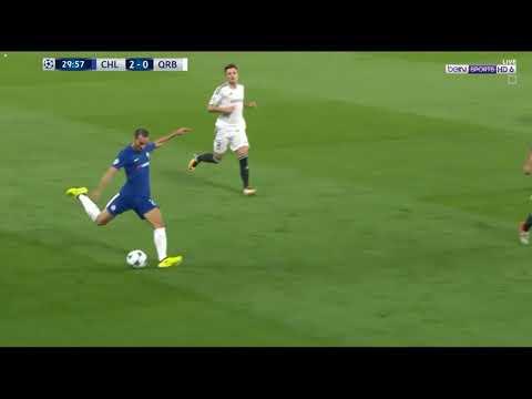 Zappacosta Fantastic Goal vs Qarabag Agdam   Chelsea vs Qarabag Agdam0 2 UCL 12 09 2017
