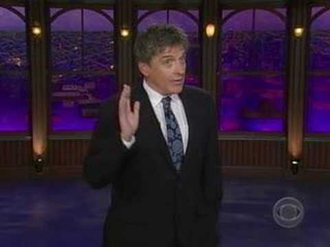 The Late, Late Show w/ Craig Ferguson: Pleasanton Monologue