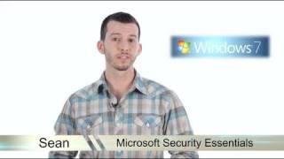 Learn Windows 7 - Microsoft Security Essentials