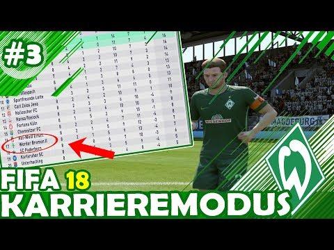 DOWN PHASE Beim SV WERDER BREMEN II😓🤦🏽♂️ -  FIFA 18: KARRIEREMODUS WERDER BREMEN II #3 (deutsch)