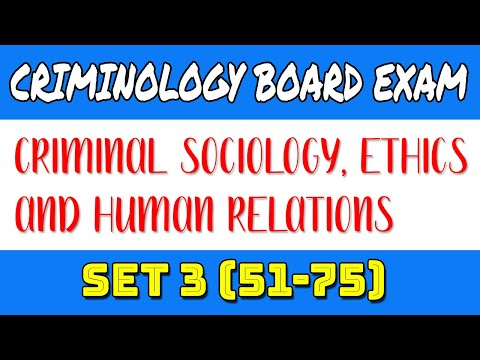 QUESTIONS FOR CRIMINOLOGIST CRIMINAL SOCIOLOGY ETHICS AND