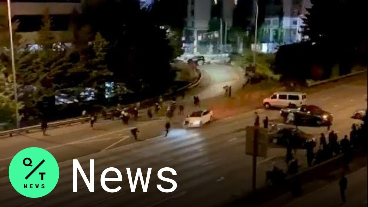 Protesters hit by car Seattle: 1 of 2 women struck on closed freeway ...