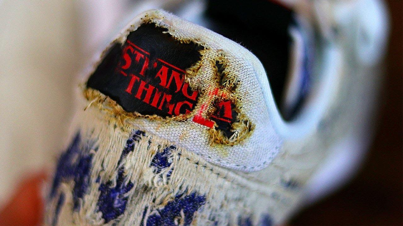 stranger things chaussures nike