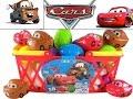 Disney Pixar Cars Surprise Eggs Unboxing Cool Review Lightning McQueen Mater