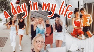 a day in the life of teenage youtubers!