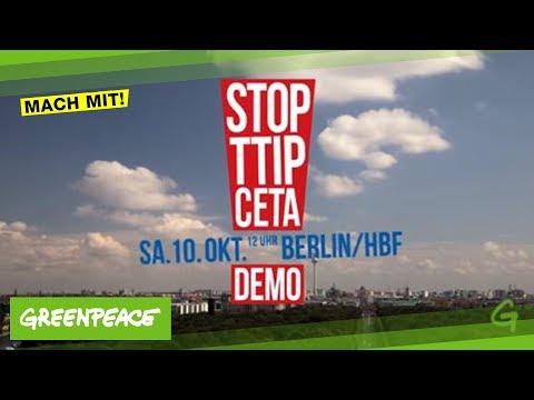 TTIP & CETA stoppen am 10. Oktober in Berlin
