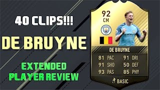 FIFA 17 KEVIN DE BRUYNE (92) TOTW PLAYER REVIEW ULTIMATE TEAM