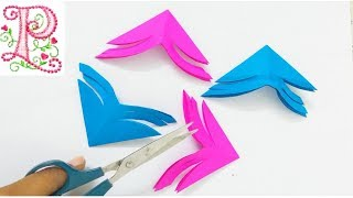 Paper craft making at home    home decoration ideas    poppyalley