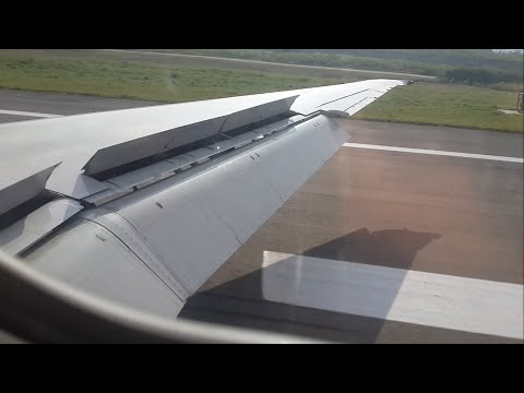 FAT MD-82 Landing at Magong (Jul.13.2015)