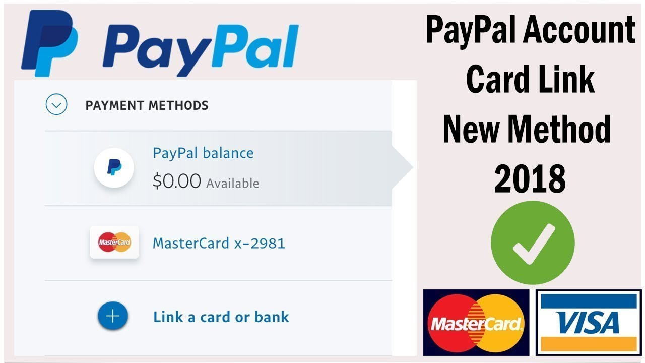How to link virtual credit card on paypal | Paypal card link 2018 - Paypal  vcc, virtual card