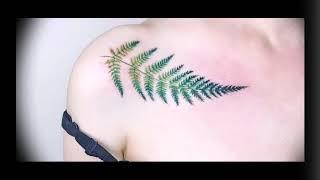 Значение тату папоротник - готовые рисунки татуировок на фото