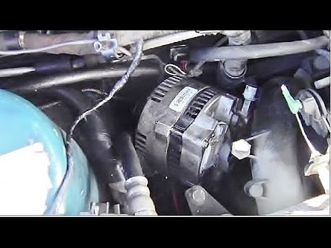 How to Install an Alternator - YouTube