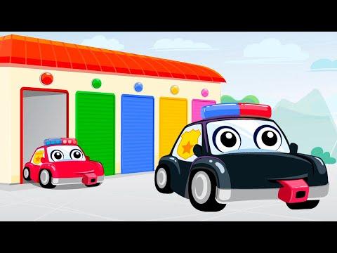 Развивающий мультфильм для детей про машинки Учим цвета и считаем машинки. Анимашка новые серии 2021