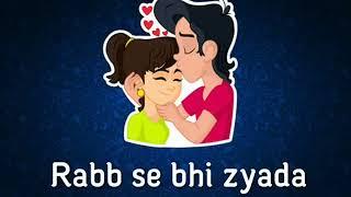   Tujhe chaha   Neha kakkar     heart touch sad whatsapp tone  