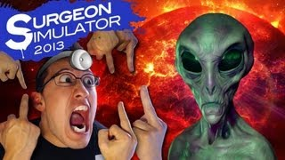 EVERYTHING HATES ME!! | Surgeon Simulator 2013 Space Update (ALIEN SURGERY) #2