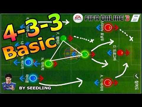 FIFA Online3 - แผน 4-3-3 Basic [NEW ENGINE]