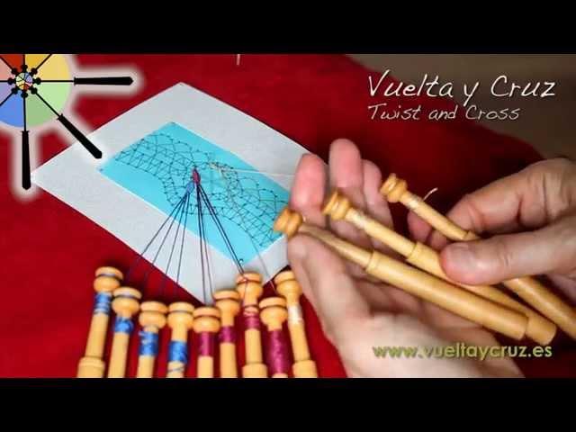 Lección 2 de Vuelta y Cruz / Lesson 2 by Twist and Cross