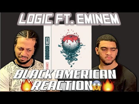 BLACK AMERICAN FIRST REACTION to | Logic - Homicide (feat. Eminem)
