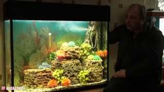 """Освещение аквариума. Аквариумный светильник - подсветка серии """"Про"""". Свет в аквариуме."""